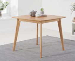Seth Oak 90cm Square Dining Table