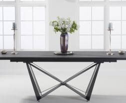 Benjamin 180cm Extending Grey Ceramic Dining Table
