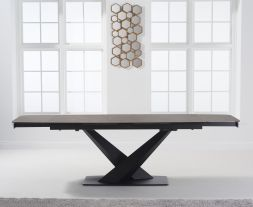 Jack 180cm Extending Mink Ceramic Dining Table