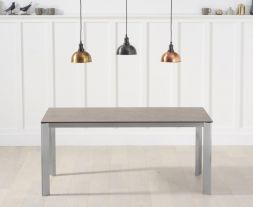 Alejandra 170cm Brown Italian Ceramic Dining Table