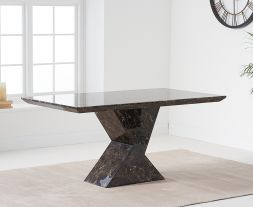 Allen 160cm Brown Dining Table