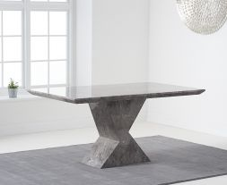 Allen 160cm Grey Dining Table