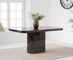 Becca 160cm Brown Dining Table