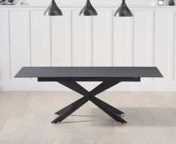 Britolli 180cm Extending Grey Stone Finish Dining Table