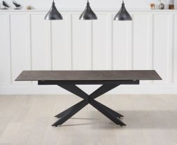 Britolli 180cm Extending Mink Ceramic Dining Table