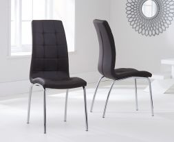 California Dining Chair Brown (Pairs)