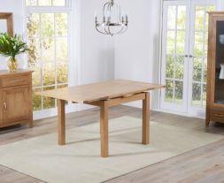 Cambridge 90cm Oak Extending Dining Table