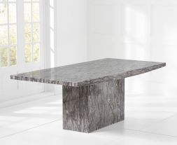 Coruna 160cm Grey Dining Table