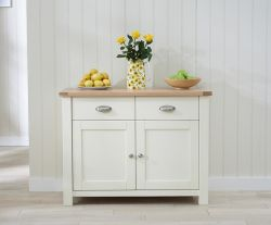 Sandringham Oak & Cream Medium Sideboard