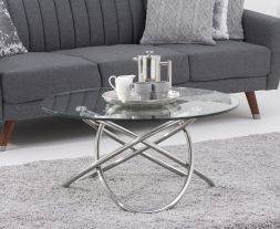 Dina Glass Coffee Table