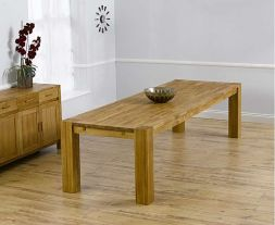 Madrid 300cm Solid Oak Dining Table