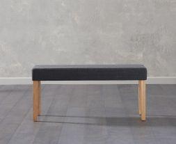 Maiya Small Black Bench