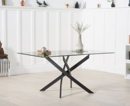 Marina 160cm Glass Dining Table