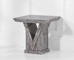 Minsk Grey Lamp Table