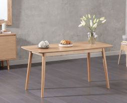 Newark 150cm Oak Dining Table
