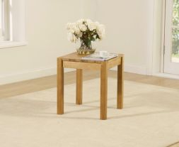 Promo Oak Lamp Table