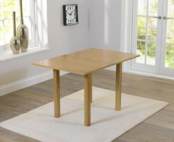 Hove 60cm Solid Hardwood Extending Dining Table