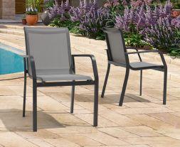 Gerbera Grey Garden Chair (Pairs)