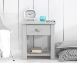 Sandringham Grey 1 Drawer Nightstand