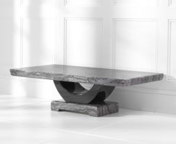 Rivilino Dark Grey Marble Coffee Table