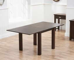 Sandringham 90cm Flip Top Dark Oak Ext Table (90 - 180cm)