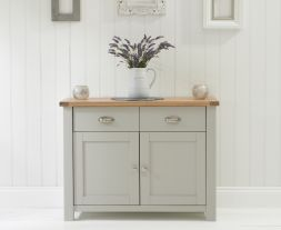 Sandringham 2 Door 2 Drawer Oak & Grey Sideboard