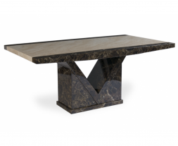 Toledo 220cm Marble Dining Table