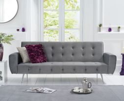 Valentina Grey Fabric Sofa Bed