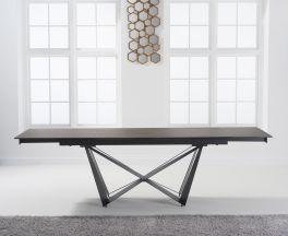 Benjamin 180cm Extending Mink Ceramic Dining Table