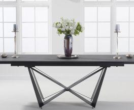 Benjamin 180cm Extending Grey Ceramic Dining Table