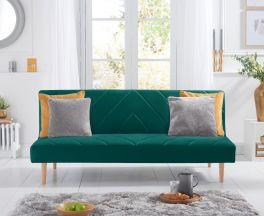 Waltham Green Velvet Sofa Bed