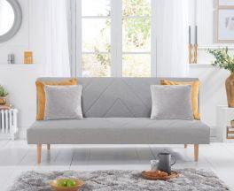 Waltham Grey Linen Sofa Bed