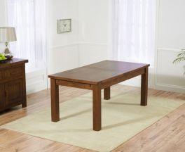 Rustique Dark 180cm Extending Dining Table