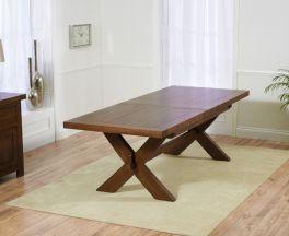Avignon Dark 200cm Dining Table