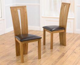 Arizona Brown Chairs (Pairs)