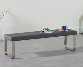 Ava Large Grey Bench