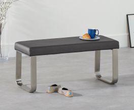 Ava Small Grey Bench