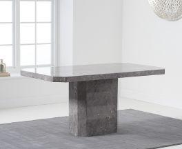 Becca 160cm Grey Dining Table