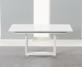 Beckley White Extending Dining Table