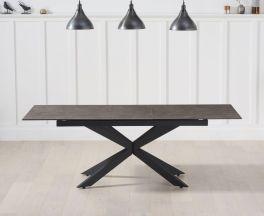 Britolli 180cm Extending Mink Ceramic Dining Table