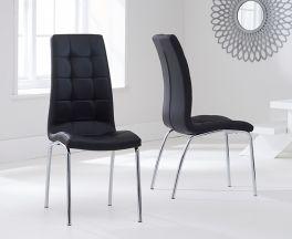 California Dining Chair Black (Pairs)