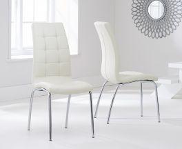 California Dining Chair Cream (Pairs)