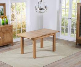 Cambridge 120cm Oak Extending Dining Table