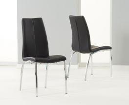 Carsen Black Dining Chair (Pairs)