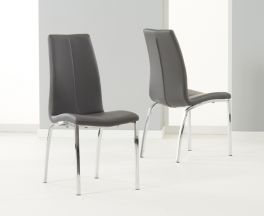 Carsen Grey Dining Chair (Pairs)