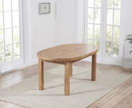 Cheyenne Oval Oak Extending Dining Table