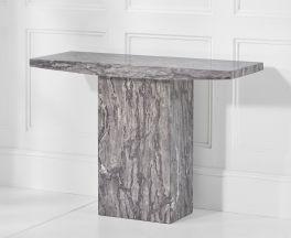 Coruna Grey Console Table