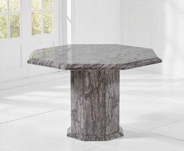 Coruna Octagonal Grey Dining Table