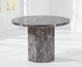 Coruna Round Grey Dining Table