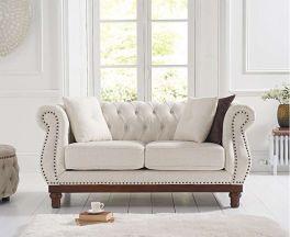 Highgrove Ivory Linen 2 Seater Sofa